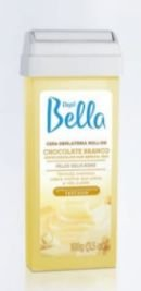 Cera Depilatória Depil Bella 100G Roll-On Chocolate Branco