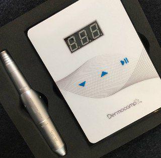 COMBO CONTROLE SLIM WHITE / PRETO + SHARP 300 PRO - PRATA DERMOCAMP