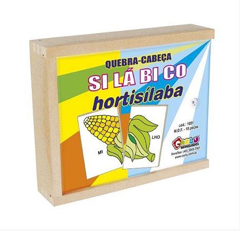 Quebra-Cabeça Silábico Hortisílaba