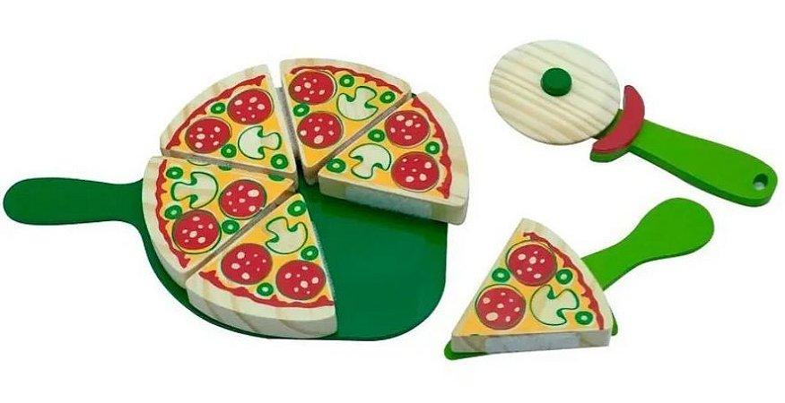 Brincando de Comidinha Kit Pizza-390
