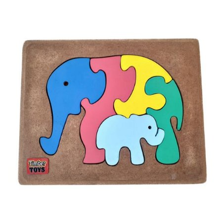 Quebra Cabeça Elefantes