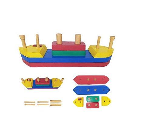 Rideboat Barco de Madeira