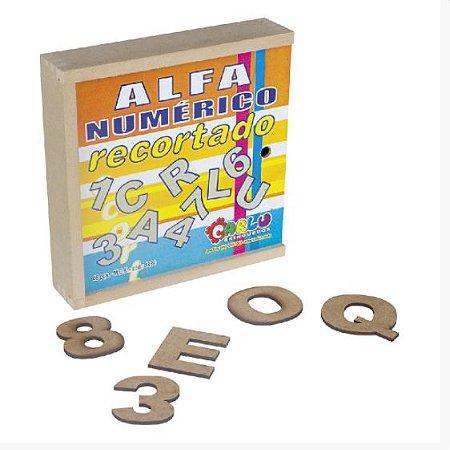 Alfanumérico Recortado