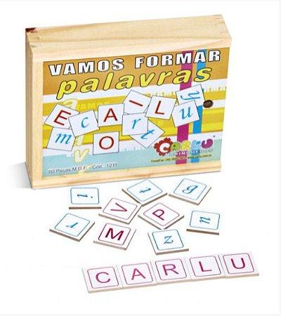 Alfabeto Vamos Formar Palavras