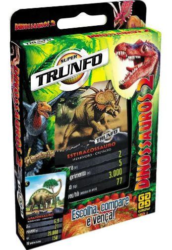 Super Trunfo Dinossauros 2