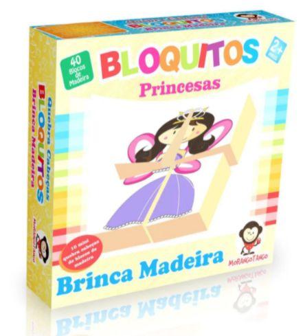 Quebra Cabeça Bloquitos Princesas