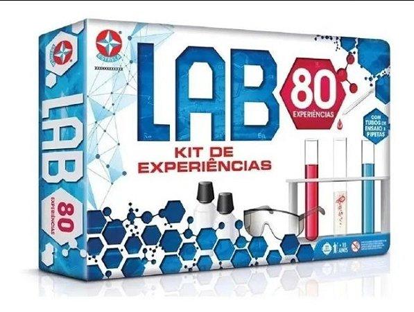 Laboratório De Química Com 80 Experiências Original Estrela