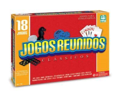 Jogos Reunidos Clássicos 18 Jogos