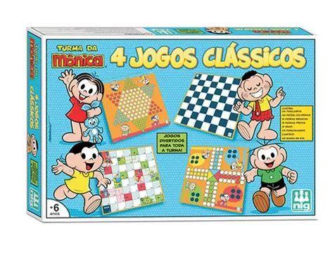 4 Jogos Clássicos Turma Da Monica
