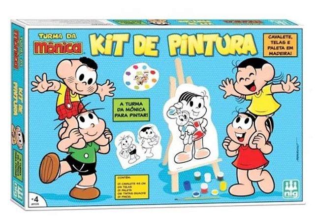 Kit De Pintura Turma Da Monica
