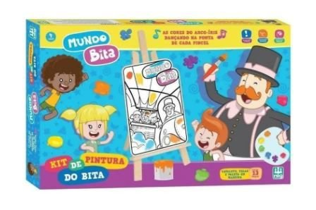 Kit De Pintura Mundo Bita