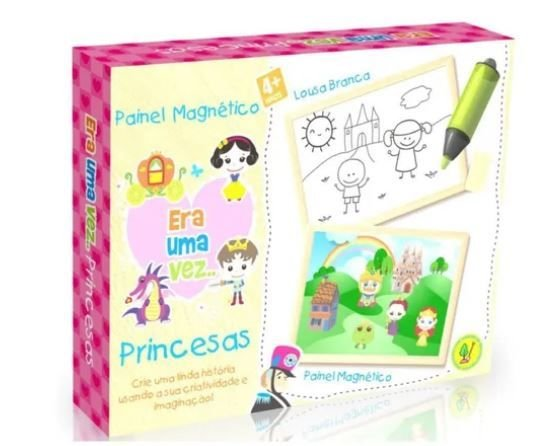 Painel Magnetico Era Uma Vez Princesas