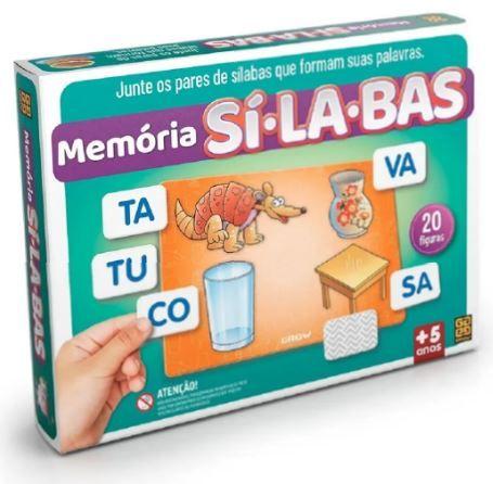 Memória Silabas