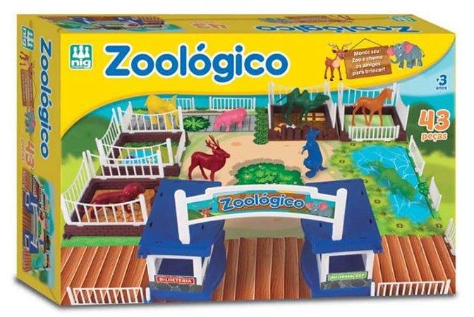 Zoológico 43 Peças