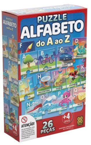 Puzzle Alfabeto do A ao Z