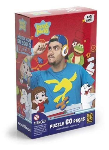 Puzzle 60 Peças Luccas Neto
