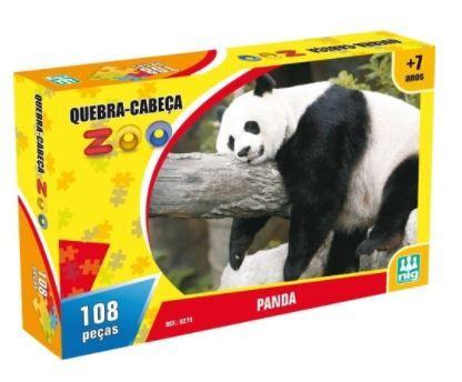 Quebra Cabeça 108 Peças Zoo Panda