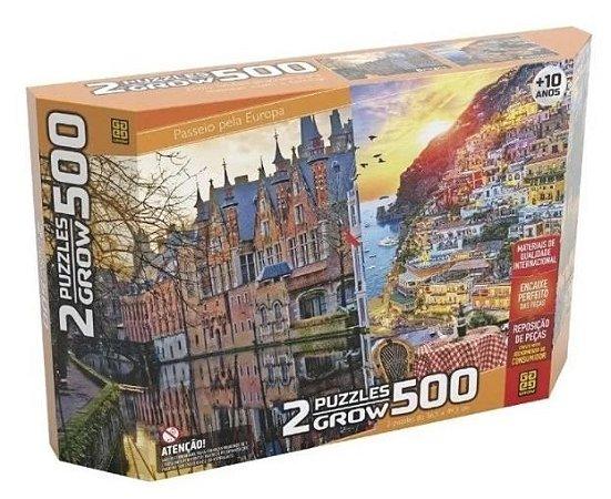 Puzzles 500 Passeio Pela Europa