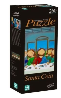Puzzle Santa Ceia Releituras 260