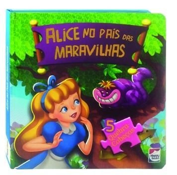 Alice No Pais Das Maravilhas Quebra Cabecas