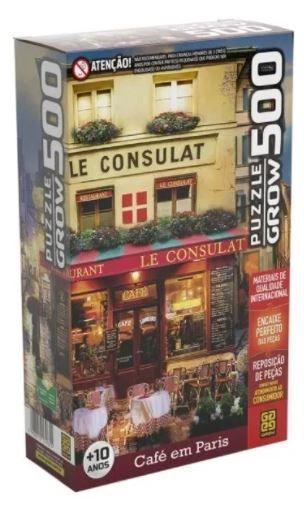 Puzzle 500 Café Em Paris