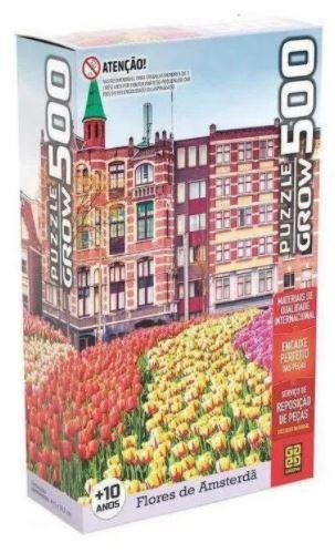 Puzzle 500 Flores De Amsterdã