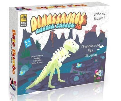 Dinossauros Quebra Cabeça 3d