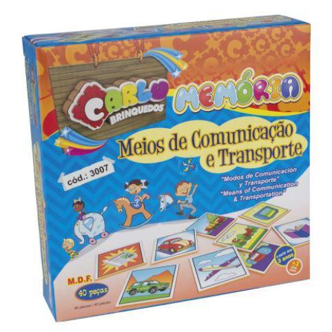 Memória Meios de Comunicação e Transportes