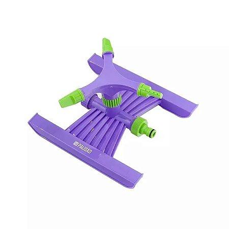 Irrigador Rotativo Plástico 3 Jatos Encaixe 3/4 POL PALISAD
