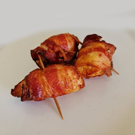 Espeto de Frango c/ Bacon 25 Unid.