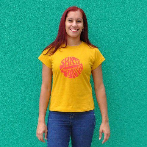 Camiseta Feminina SkateMania 70s