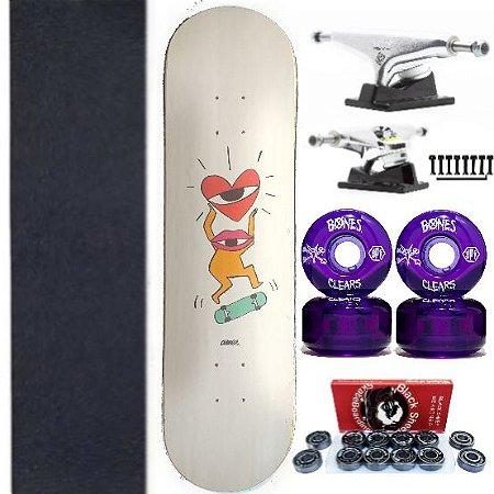 Skate Completo com Shape Amee Glory 8.25 Polegadas