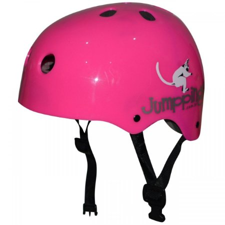 Capacete Jumppings Skate e Patins Rosa M