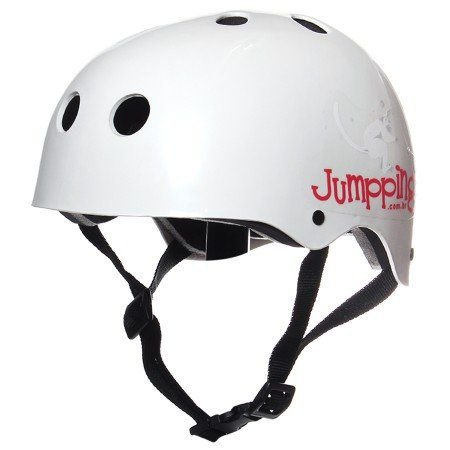 Capacete Jumppings Skate e Patins Branco G