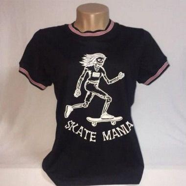 Camiseta Ring Tee SkateMania Algodão com Linho