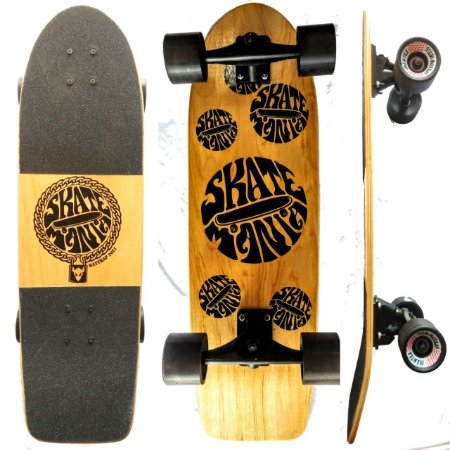 Simulador de Surf SkateMania Carver Board Completo