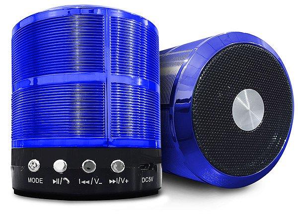 Alto Falante Caixa Som Portátil Bluetooth Mp3 Rádio Fm USB