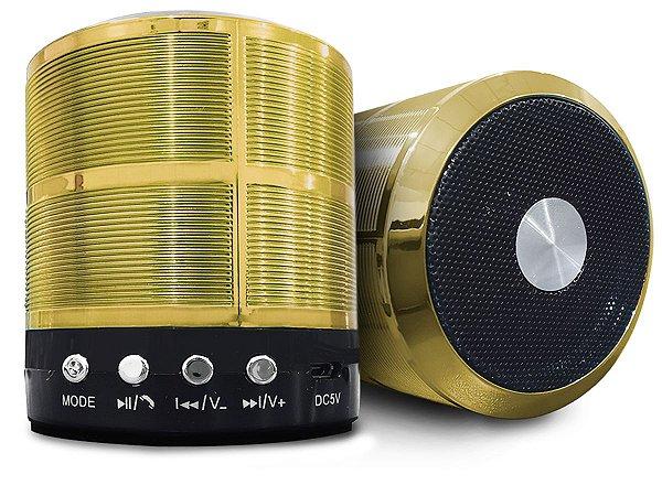 Caixinha Alto Falante Portátil Som Bluetooth Mp3 Mini Speaker 887