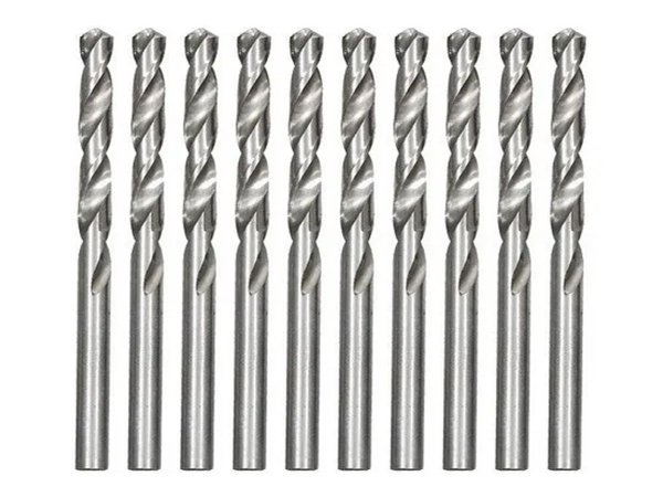 Broca Aço Rápido Peças Para Metais 6 Mm Kit Com 10 715609MTX