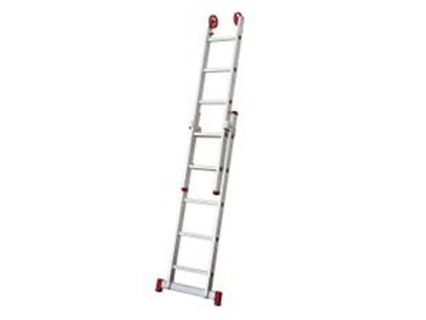 Escada Alumínio Extensiva 5 Degraus Reisam