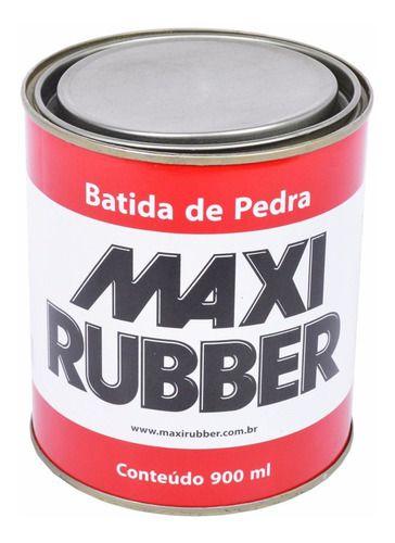 Batida De Pedra Preto 900ml Maxi Rubber