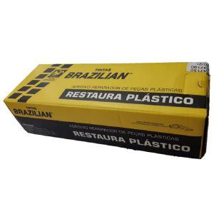 Adesivo Restaura Peças Plastico Brazilian 75G