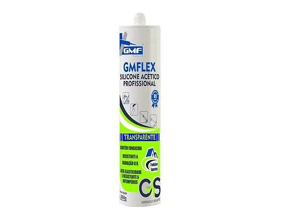 Silicone Acético Profissional Transparente 260g GMFlex