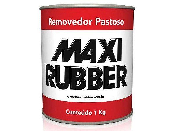 Removedor De Tinta Pastoso Maxi Rubber 1 Kg