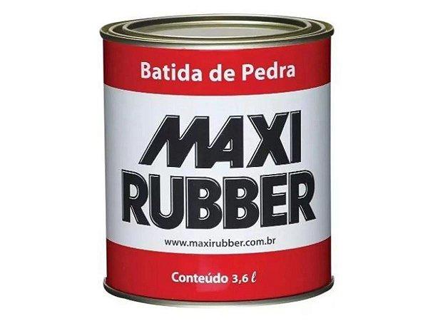 Batida de Pedra Maxi Rubber 3,6L Preto