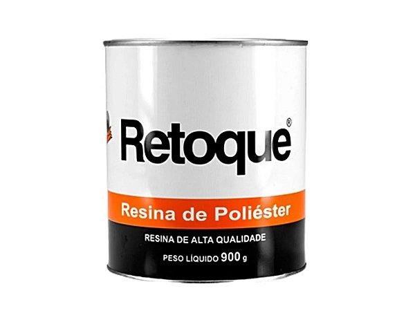 Resina De Poliéster Laminação Com Catalisador Retoque 900g