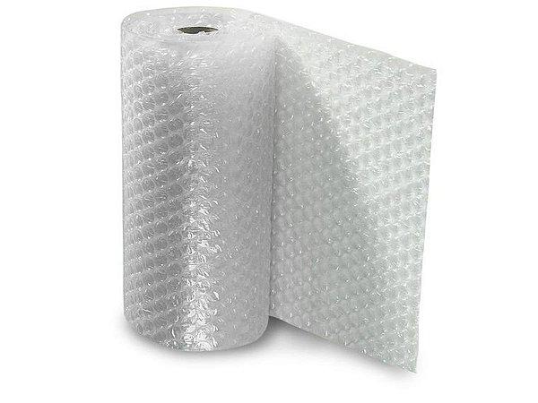 Plástico Bolha 1,30x100m P/ Proteção Mudança
