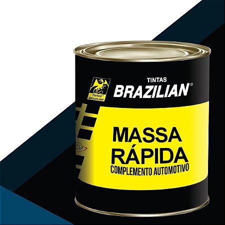 Massa Rápida Complemento Automotivo Cinza 900ml Brazilian