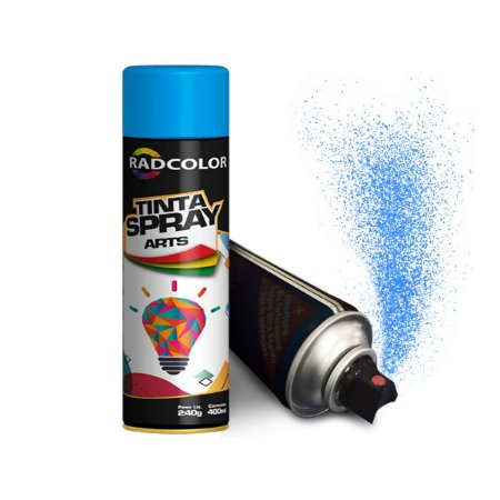 Tinta Spray Arts Cores Uso Geral E Automotivo 400ml