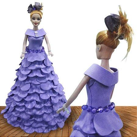 Boneca Princesas Disnay Edição Limitada Tiffany